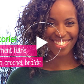 crochet braids simple et beau