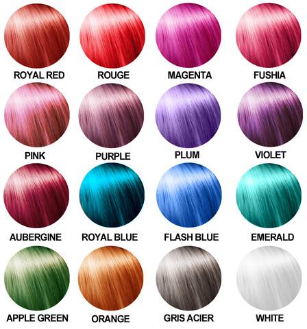 notre slection de nos 5 produits de colorations phmres prfrs 1 crazy color - Crazy Color Nuancier